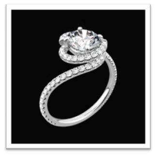 29a99d83171db Top 10 Round Cut Engagement Rings - Petra Gems