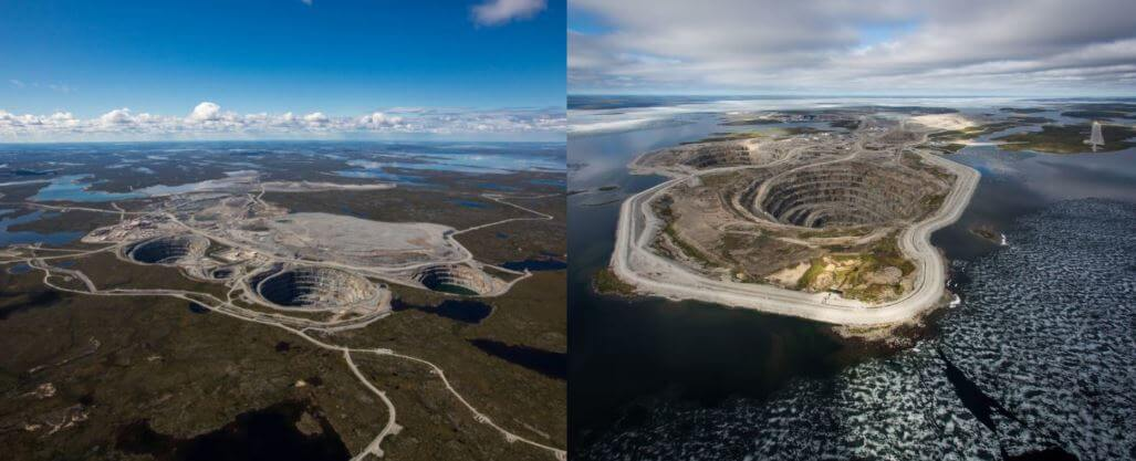 Dominion Diamond Corporation Mines Ekati and Diavik