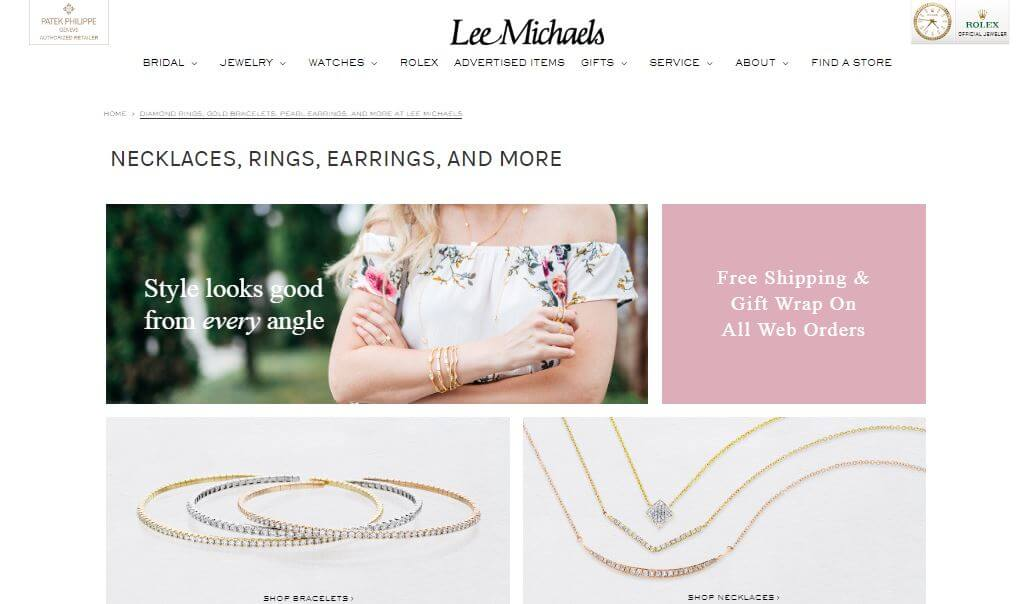 Lee Michaels Fine Jewelry Review