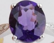 Amethyst natural gemstone