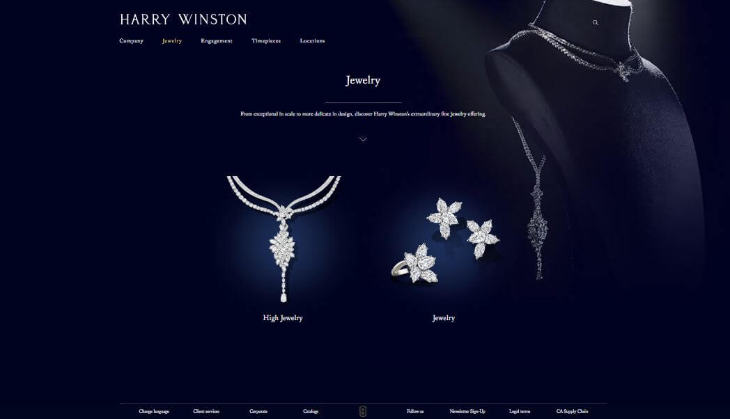 What Harry Winston Offer